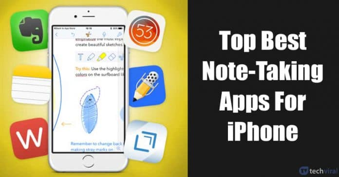 15 Best Note-Taking Apps For iPhone 2020