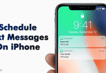 How To Schedule Text Messages On iPhone