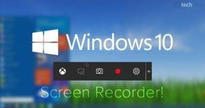 Screen recorder windows