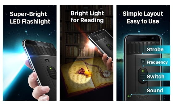 Aplikasi Senter 'Flashlight' APK untuk Android Gratis 2019 - Super Bright LED Flashlight