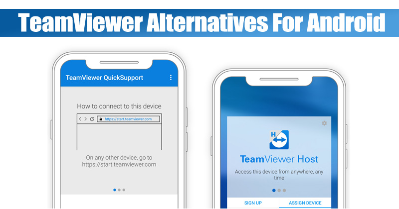 10 Best Teamviewer Alternatives For Android In 2020 Remote Access