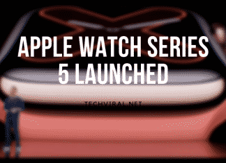 APPLE WATCH SERIES 5 LAUNCHED