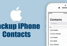 How To Backup iPhone Contacts (2 Methods)