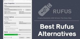 Top 10 Best Rufus Alternatives 2019