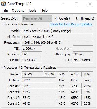 أفضل 10 برامج لمراقبة درجة حرارة المعالج ( CPU) للويندوز 10