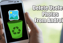 How To Delete Useless Photos From Android