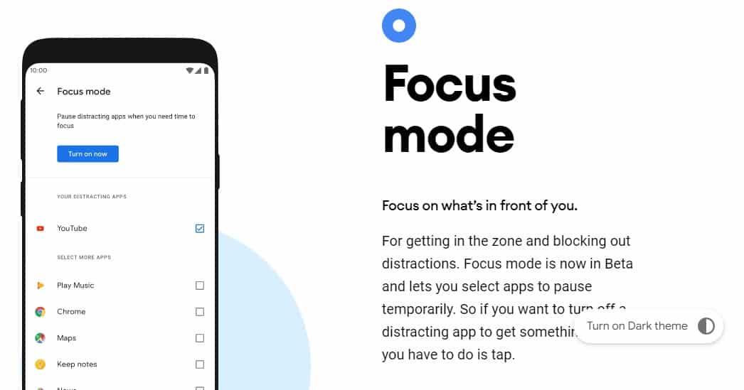 Focus Mode