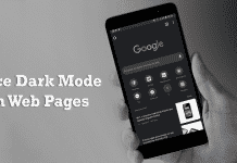 How to Force Dark Mode on Web Pages in Google Chrome