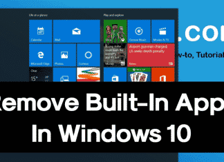 How To Uninstall Windows 10's Built-in Apps