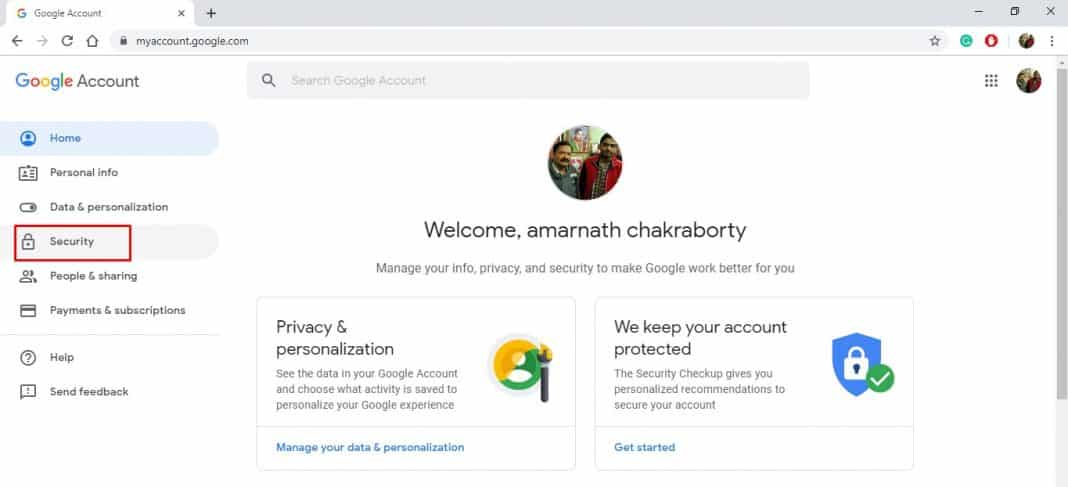 Remove Third-Party App Access To Your Google Account