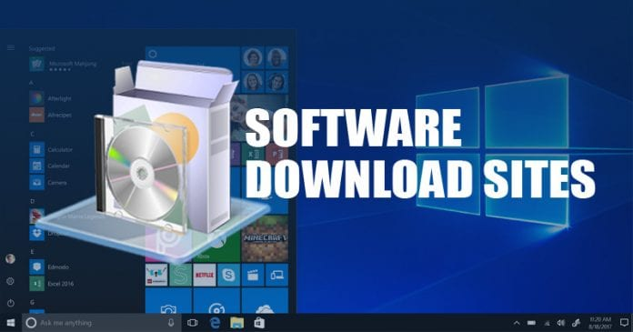 10 Best Software Download Sites For Windows 10 [2020 Edition]