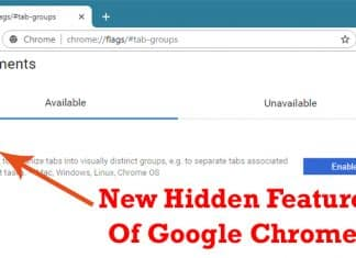 "How To Enable ""Tab Groups"" Feature In Google Chrome Browser"
