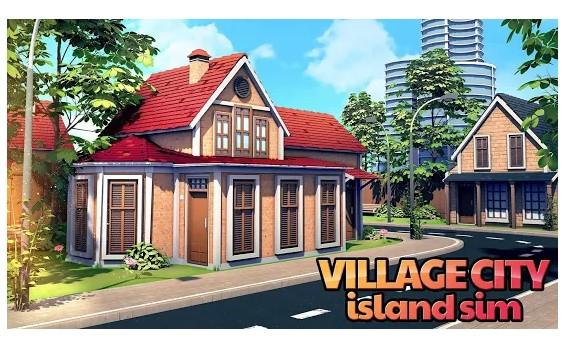 قرية المدينة: Island Sim
