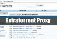ExtraTorrent Proxy Sites List (100% Working ExtraTorrent Mirror Sites)