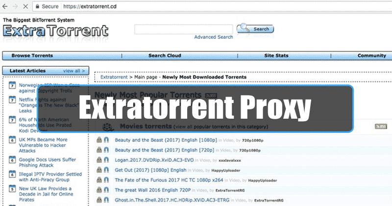 extratorrent|extratorrent proxy