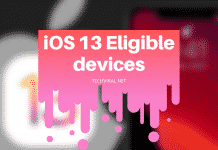 iOS 13 Eligible devices