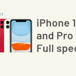 iPhone 11, Pro and Pro Max - Full specs (1)