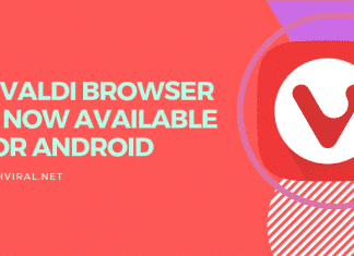 vivaldi browser is now available on anroid