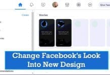 How To Change Facebook's Look Into New Design (2 Methods)
