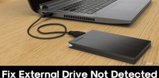 How To Fix External Drive Not Showing Up Or Recognized