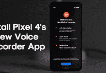 How To Install Pixel 4's New Voice Recorder App
