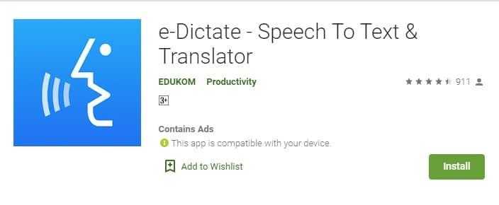 e-Dictate