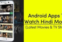 10 Best Android Apps To Watch Hindi Movies in 2021
