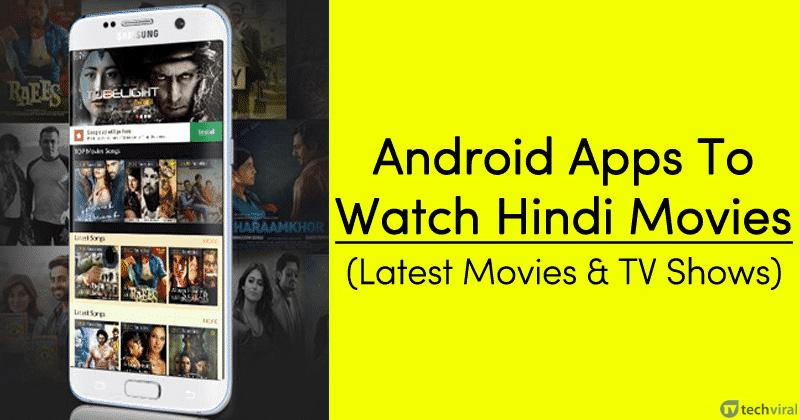 10 ứng dụng Android hàng đầu để xem phim Ấn Độ năm 2020 2