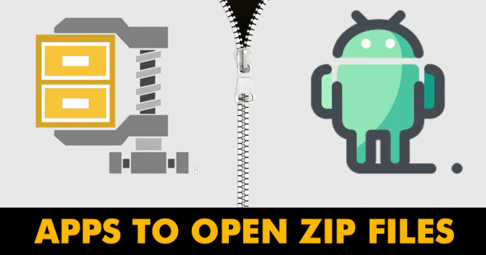 Top 5 Best Apps To Open ZIP Files On Android