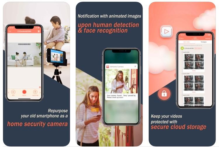 AtHome Camera Security App