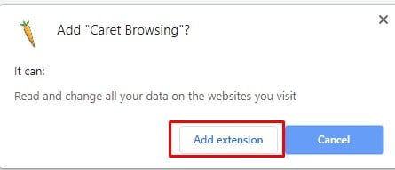Enable Caret Browsing On Google Chrome Browser