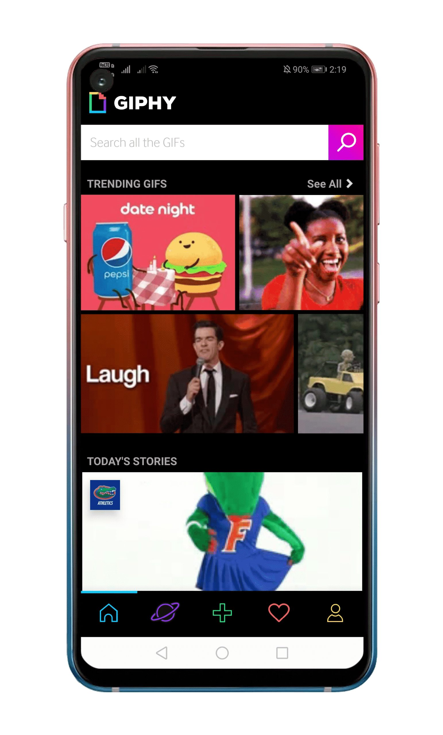 Use a GIF as Live Wallpaper On Android