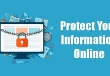 How to Protect Your Information Online