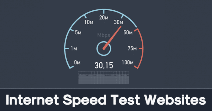 Best Internet Speed Test Websites