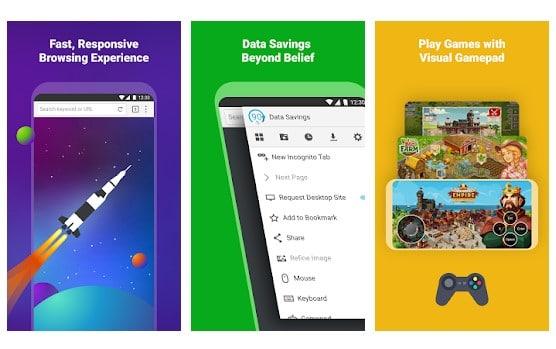 Browser Android Terbaik Dengan Fitur Mode Gelap