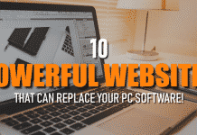 10 Powerful Websites That Can Replace Your PC Software