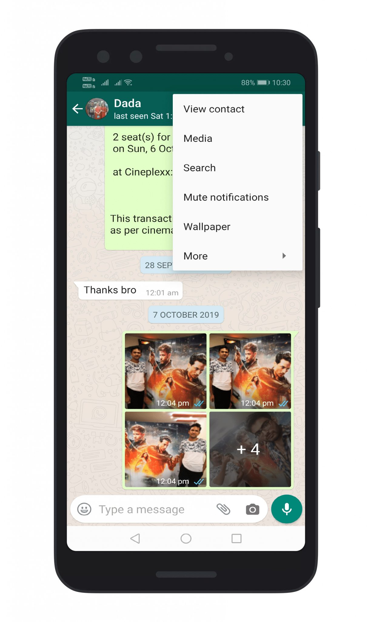 Export WhatsApp Chat as PDF