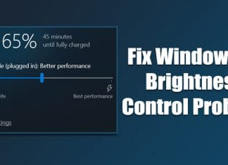 How To Fix Windows 10 Brightness Control Not Working Problem