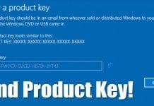 4 Best Ways Find Windows 10 Product Key
