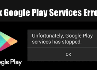 Fix Google Play Services Errors