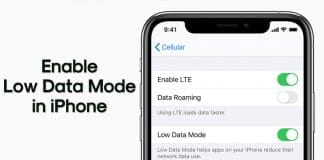 How to Use Apple's Low Data Mode in iOS 13