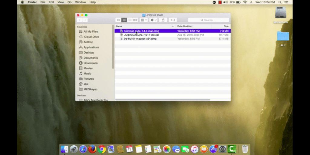 Unzip the file