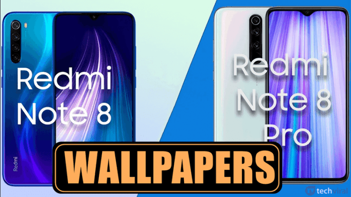 Download Redmi Note 8 and Note 8 Pro Stock Wallpapers
