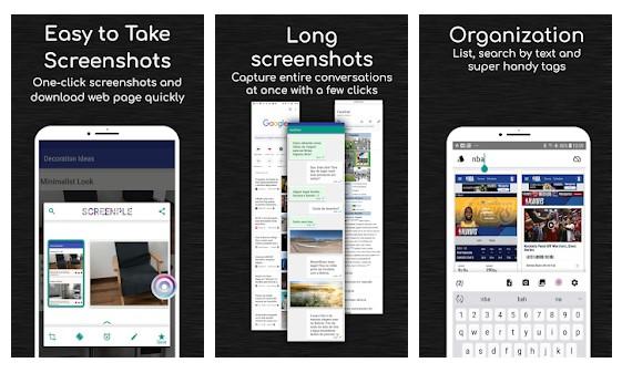 لقطات الشاشة