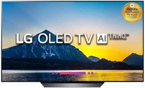 LG 164 cm (65 Inches) 4K Ultra HD Smart OLED TV OLED65B8PTA