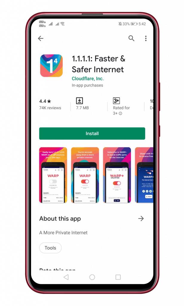 Bagaimana Cara Menggunakan 'Layanan VPN Gratis' Baru Cloudflare di Android?