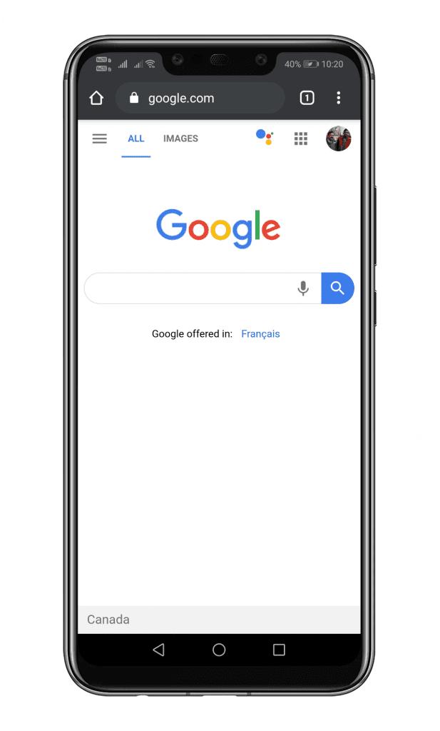 Buka Browser Chrome
