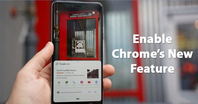 How To Enable Google Lens Reverse Image Search On Chrome for Android