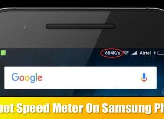 How To Display Internet Speed On Status Bar In Samsung Phones