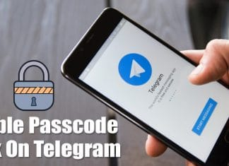 How To Enable Passcode Lock Feature on Telegram